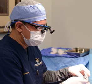Charlotte Mohs Surgery being performed by Dr. Gilly Munavalli